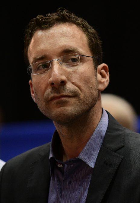 איציק שמולי בכנס של מפלגת העבודה. תל-אביב, 23.6.2019 (צילום: תומר נויברג)