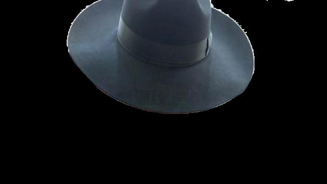 """מגבעת (פרט מתוך התצלום נשוא התביעה של וולטר סוריאנו נגד """"בחדרי חרדים"""")"""