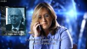 """אילנה דיין בתחקיר התוכנית """"עובדה"""" על חברת הריגול הפרטית """"בלאק קיוב"""" (צילום מסך)"""