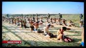 """""""שבויי חמאס"""". התצלום נטול הקרדיט כפי שהוצג בפני צופי ערוץ 2 (צילום מסך)"""