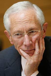 סטנלי פישר, לשעבר נגיד בנק ישראל (צילום: מרים אלסטר)