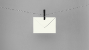 מעטפה תלויה על חבל (איור מקורי: StockSnap, רשיון cc0)