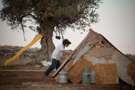 מאחז רמת-מגרון, 29.8.2011 (צילום: יונתן זינדל)