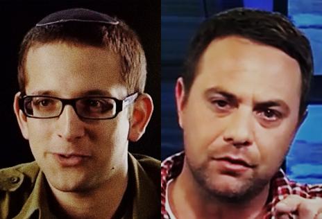 עופר גולן, מנהל קמפיין הליכוד (מימין) ויונתן אוריך, דובר הקמפיין (צילומי מסך)