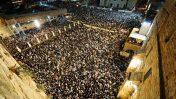 תפילת סליחות, לפנות בוקר בירושלים (צילום: מנדי הכטמן)