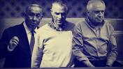 שאול אלוביץ', נוני מוזס ובנימין נתניהו (צילומים מקוריים: פלאש90)