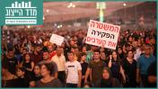 הפגנה נגד אלימות בחברה הערבית. מג'ד אל-כרום, 3.10.2019 (צילום: דוד כהן)