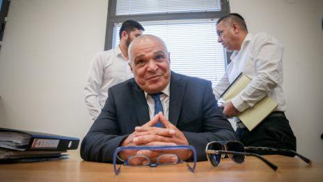 """עו""""ד יוסי כהן בבית הדין-האזורי לעבודה בירושלים, 7.10.2019 (צילום: פלאש 90)"""