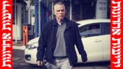 """ארנון """"נוני"""" מוזס מגיע להיחקר בפרשת """"תיק 2000"""" במטה להב 433 של משטרת ישראל, 15.1.2017 (צילום מקורי: קוקו, פלאש90)"""