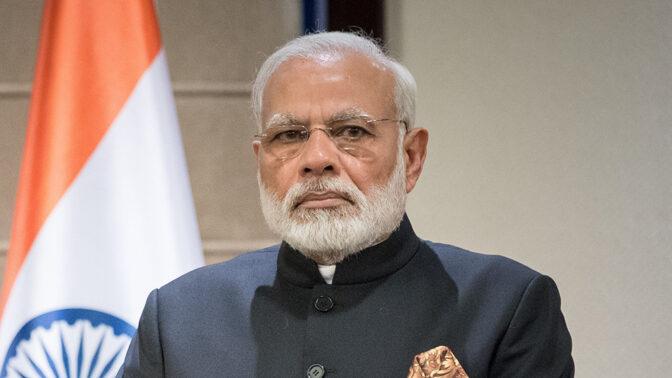 ראש ממשלת הודו נרנדרה מודי (צילום: פלאש90)
