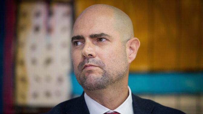 שר המשפטים, אמיר אוחנה (צילום: יונתן זינדל)