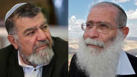הרב אליקים לבנון (מימין) וגרשון מסיקה (צילומים: נתי שוחט והדס פרוש)