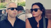 """עיתונאי """"ידיעות אחרונות"""" סימה קדמון ורז שכניק (צילומים: """"העין השביעית"""")"""