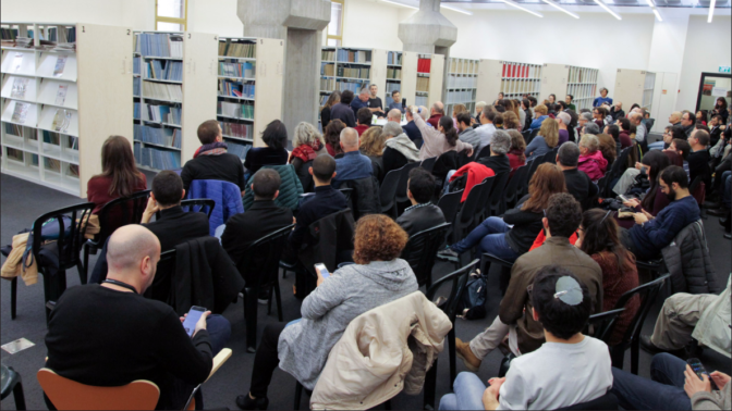כנס העיתונות העצמאית השני, בית אריאלה בתל-אביב, 27.12.2019 (צילום: ולריה קיריק)