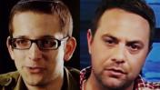 עופר גולן, מנהל קמפיין הליכוד (מימין) ויונתן אוריך, דובר הקמפיין (צילומים: צילומי מסך)