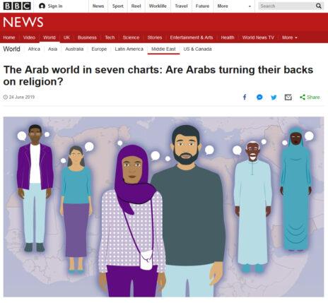 כותרת הפרסום ב-BBC