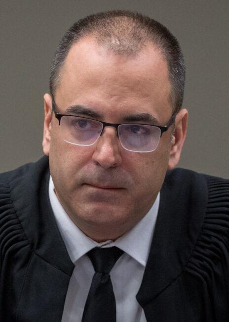 השופט בני שגיא (צילום: מרים אלסטר)