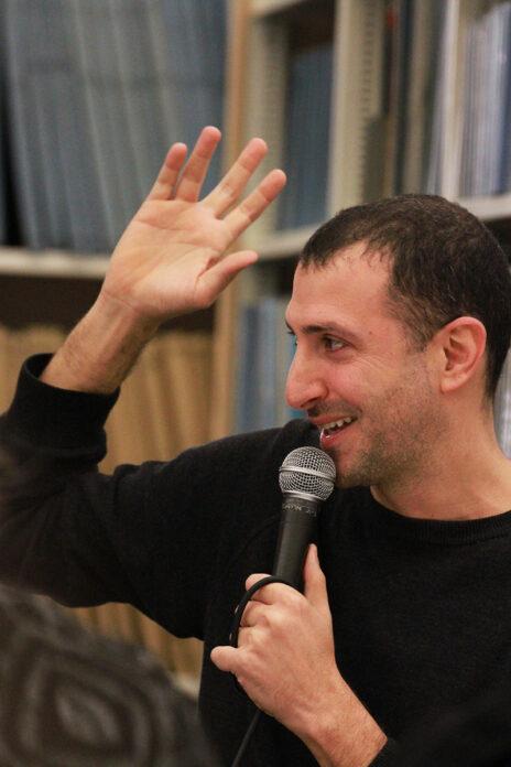 תומר אביטל, כנס העיתונות העצמאית, 27.12.19 (צילום: יאיר ישראל גיל)