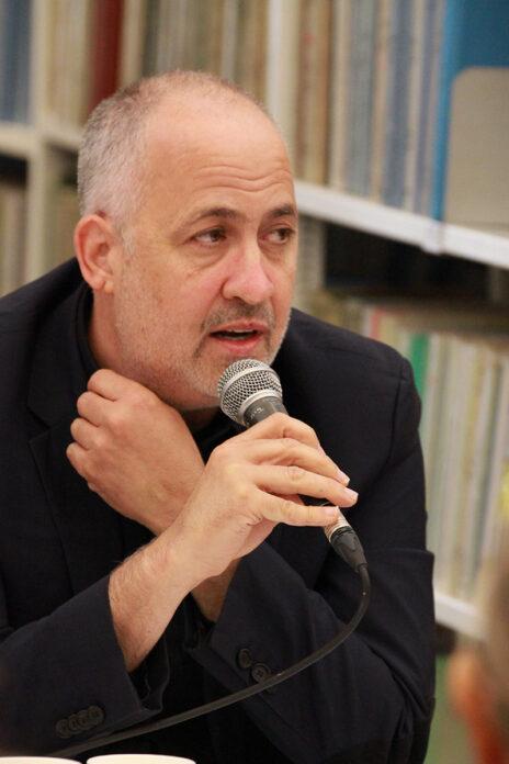 גיא רולניק, כנס העיתונות העצמאית, 27.12.19 (צילום: יאיר ישראל גיל)