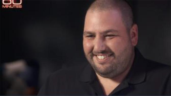 """שלו חוליו, מנכ""""ל NSO, בצילום מסך מתוכנית """"60 דקות"""" שצורף לעתירת אנשי אמנסטי"""