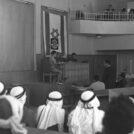 בית משפט צבאי בעזה, 1967 (צילום: משה מילנר)