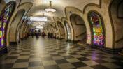 תחנת רכבת תחתית במוסקבה (צילום: דורון הורביץ)
