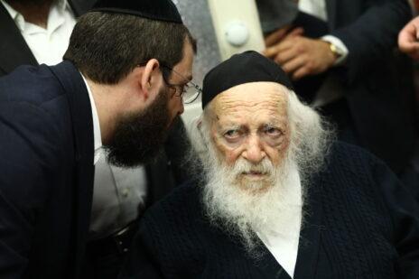 הרב חיים קנייבסקי, אוקטובר 2019 (צילום: שלומי כהן)