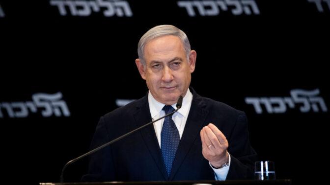 ראש ממשלת ישראל בנימין נתניהו, 1.1.2020 (צילום: יונתן זינדל)