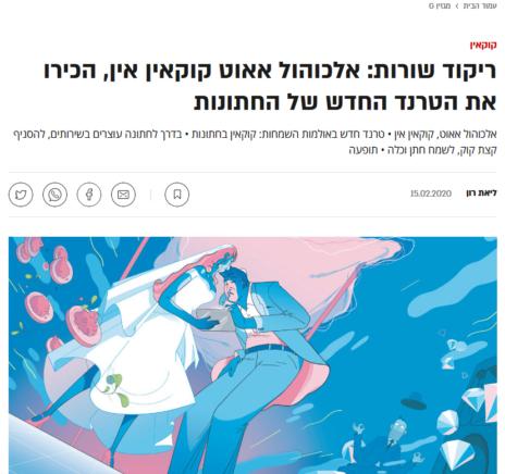 """כותרות הכתבה באתר """"גלובס"""""""