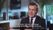 """דני קושמרו מראיין את בני גנץ ב""""אולפן שישי"""", חדשות 12 (צילום מסך)"""