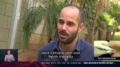 """אורן ליבוביץ', הבעלים של אתר """"קנאביס"""", בכתבה של רביב דרוקר בחדשות 13 מה-27.2 (צילום מסך)"""