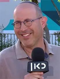 """אלעד טנא, סמנכ""""ל הדיגיטל של תאגיד השידור """"כאן"""" (צילום מסך)"""