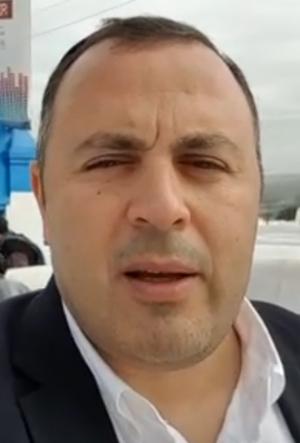 """אריאל דרעי (אין קשר משפחתי לאריה דרעי), מנכ""""ל תחנת הרדיו קול-ברמה (צילום מסך)"""
