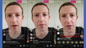 """מארק צוקרברג, מנכ""""ל ומייסד פייסבוק, במונולוג וידיאו ששודר באינסטגרם על רקע מגפת הקורונה, החודש (צילומי מסך)"""