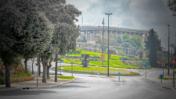 כנסת ישראל, מרץ 2020, מבט מבחוץ (צילום מקורי: אוליבייה פיטוסי)