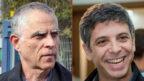 """מימין: מנכ""""ל חדשות 12 אבי וייס ומו""""ל ועורך-אחראי של """"ידיעות אחרונות"""" ארנון (נוני) מוזס (צילומים: פלאש 90)"""