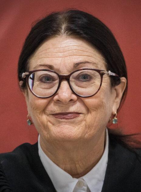 נשיאת בית-המשפט העליון, השופטת אסתר חיות (צילום: יונתן זינדל)