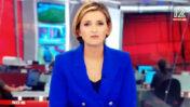 דנה ויס קוטעת דיון על מגפת הקורונה בחדשות 12 כדי לקדם את תוכנית הריאליטי שתשודר בערוץ לאחר מכן (צילום מסך)