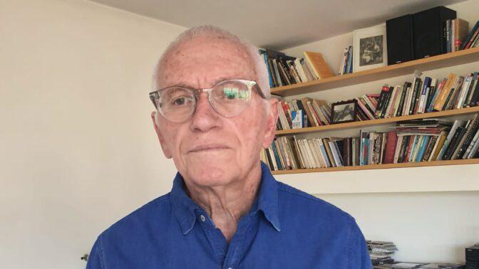 משה שלונסקי, צילום עצמי