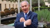 ראש ממשלת ישראל, בנימין נתניהו, מתוך תשדיר תעמולה לרגל יום העצמאות. אפריל, 2020 (צילום מסך)
