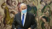 ראש הממשלה בנימין נתניהו בישיבה הראשונה של הממשלה החדשה, 17.5.2020 (צילום: אלכס קולומויסקי)