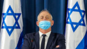 שר הביטחון בני גנץ (צילום: ישראל מארק סלם)