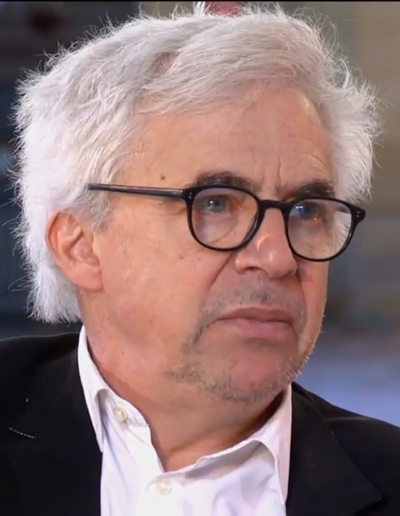 עורך-הדין הצרפתי ויליאם בורדון (צילום מסך מתוך שידורי רשת ארטה)