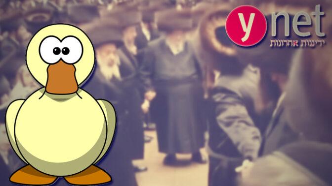ynet ברווז עיתונאי