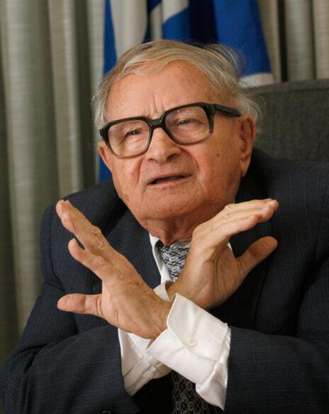 רפי איתן בעת כהונתו בכנסת, מטעם מפלגת הגמלאים. נובמבר 2007 (צילום: מיכל פתאל)