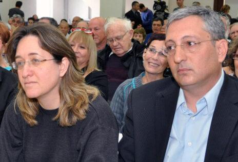 ניר חפץ ואילנה דיין ב-2012 (צילום: יהודה שגב)