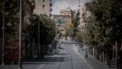 רחוב יפו בירושלים, אחרי כניסת הסגר, 26.9.2020 (צילום: יונתן זינדל)