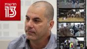 """מנכ""""ל חדשות 13 ישראל טויטו (צילום: אורן פרסיקו) וצילומי מסך מהכתבה על פעילי זכויות הבע""""ח שלא שודרה"""