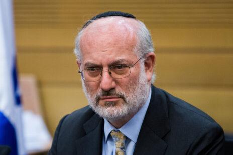 אדוארדו אלשטיין בכנסת, 2015 (צילום: יונתן זינדל)