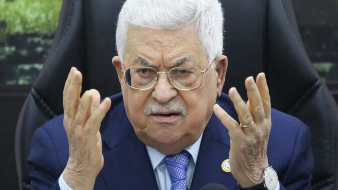 """יו""""ר הרשות הפלסטינית מחמוד עבאס, המוכר גם כאבו-מאזן (צילום: פלאש 90)"""